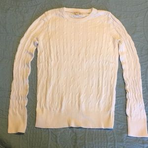 Merona cable sweater